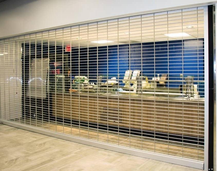 کرکره ضد سرقت - کرکره پلی کربنات شیشه ای