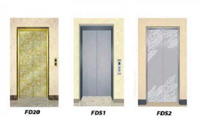 انواع درب اتوماتیک آسانسور